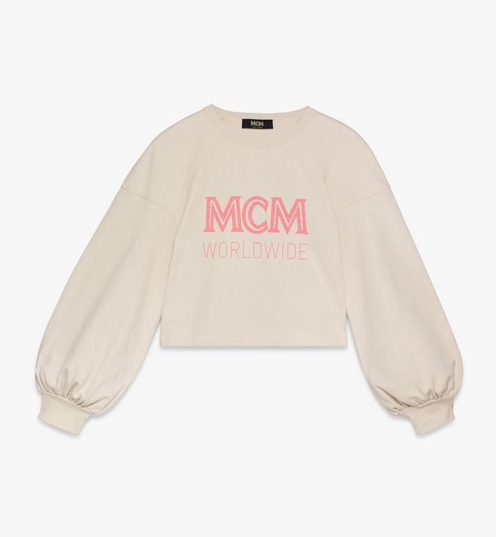 MCM MCM 女士 Worldwide 套頭上衣 Beige MFAASMM03IH00L Alternate View 1