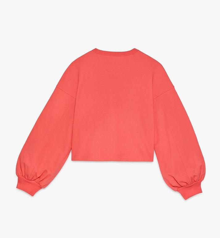 MCM Women's MCM Worldwide Sweatshirt Orange MFAASMM03O300L Alternate View 2