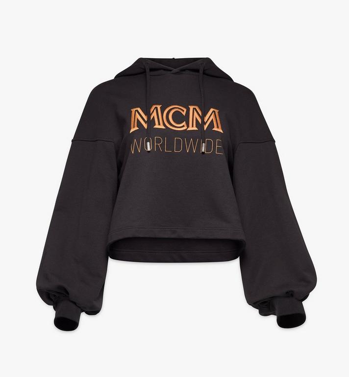 MCM Women's Bell Sleeve Logo Hoodie Alternate View