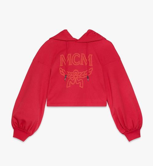 Sweat-shirt à capuche à logo pour femme