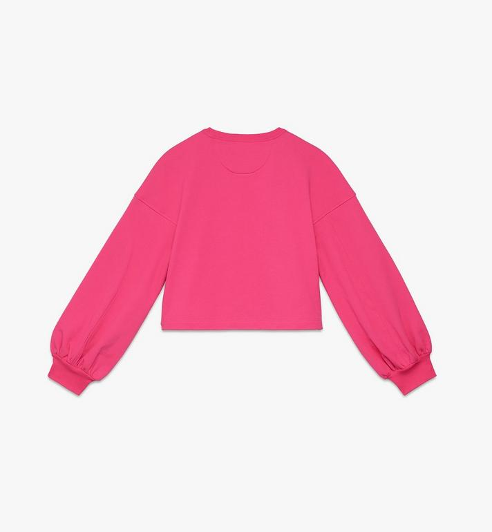 MCM 女士 Valentine 氣球袖毛衣 Pink MFAASXN01QE00M Alternate View 2