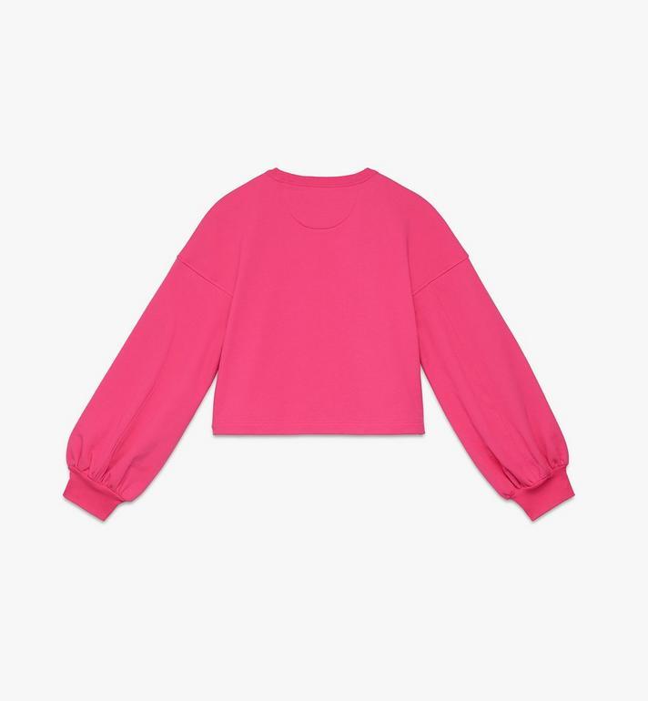 MCM Women's Valentine Balloon Sleeve Sweater Pink MFAASXN01QE0XS Alternate View 2