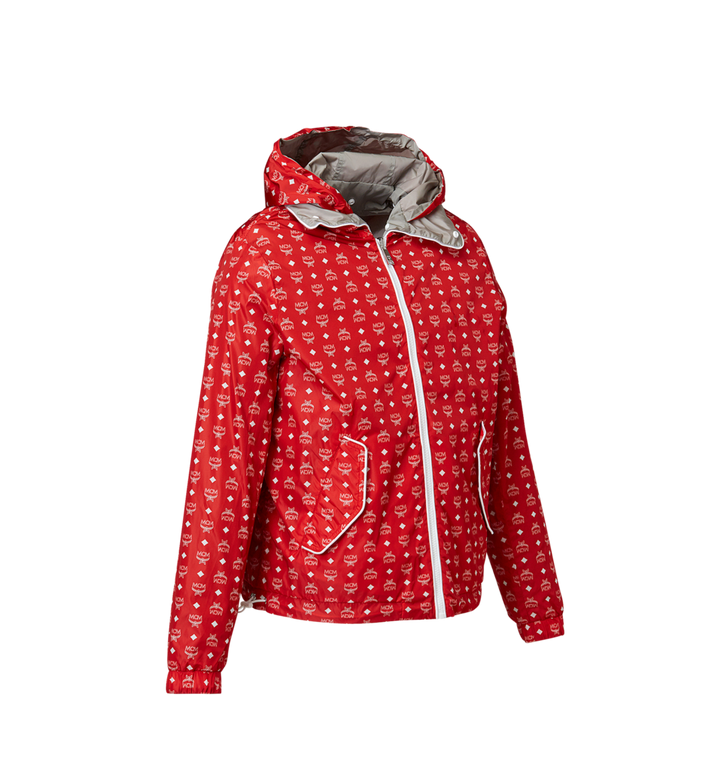 MCM Women's Reversible Packable Windbreaker Red MFC8SMM02RU00L Alternate View 2