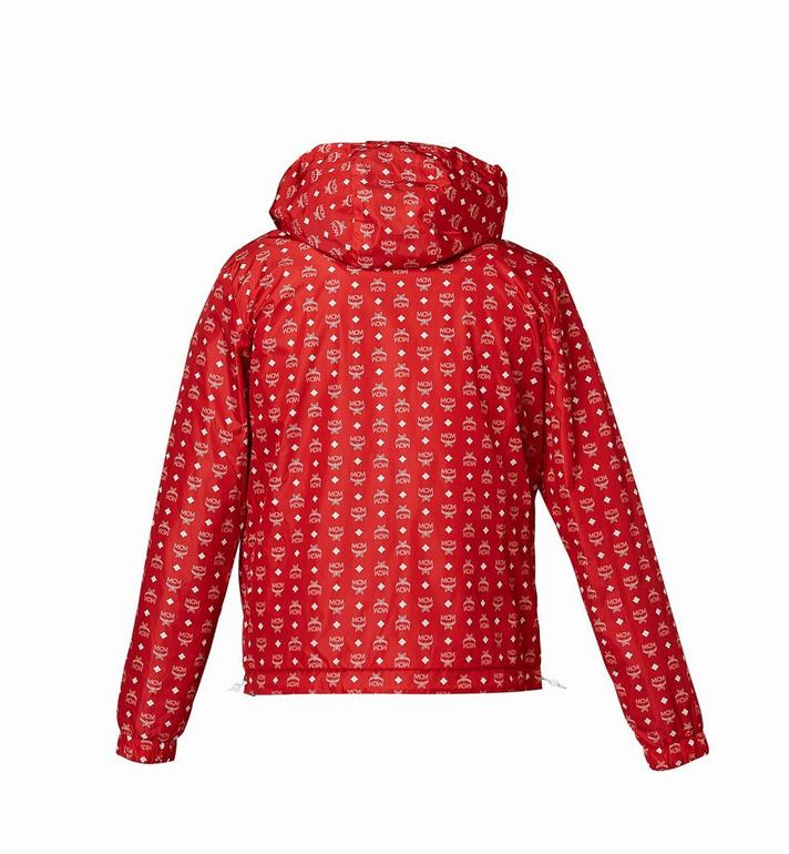 MCM Women's Reversible Packable Windbreaker Red MFC8SMM02RU00L Alternate View 3