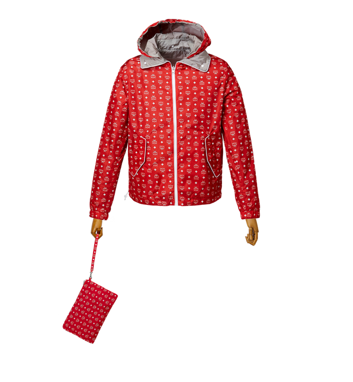 MCM Women's Reversible Packable Windbreaker Red MFC8SMM02RU00L Alternate View 5