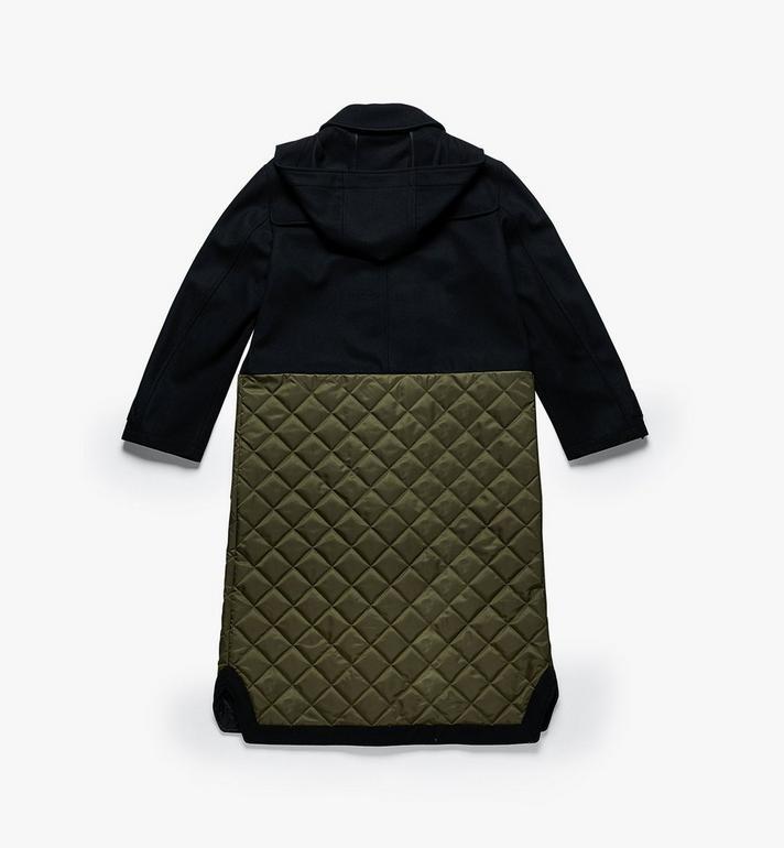 MCM Women's Resnick Wool Coat Black MFC9ARA47BK040 Alternate View 2