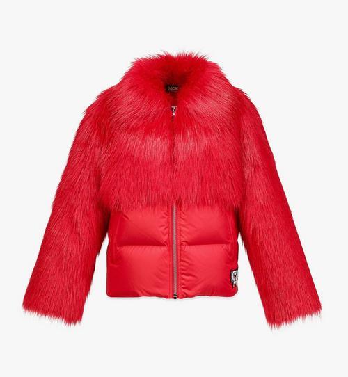 Women's Faux Fur Puffer Jacket