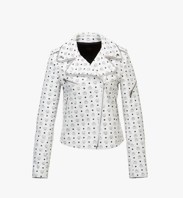 여성용 비세토스 레더 라이더 재킷