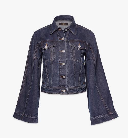 Jeansjacke mit Kimonoärmeln für Damen