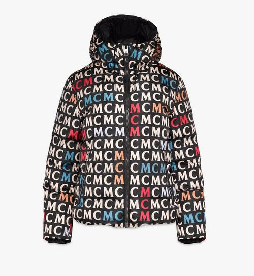 Women's Quilted Jacket in Monogram Nylon