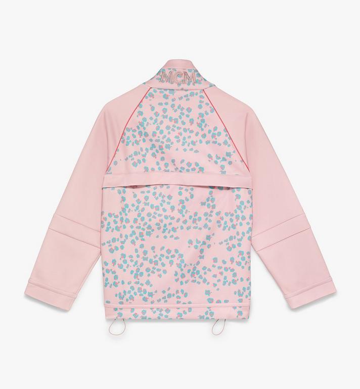 MCM Women's Floral Leopard Print Track Jacket Pink MFJASSE01QI00M Alternate View 2