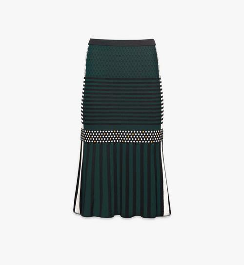 กระโปรงผ้าเเจ็คการ์ดสำหรับผู้หญิง