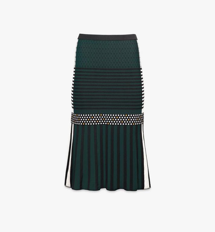 MCM Women's Jacquard Skirt Alternate View