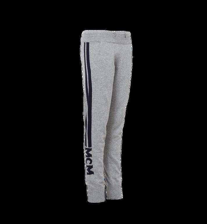 MCM Women's Cashmere Track Pants Grey MFP7AMM24EG00S Alternate View 2