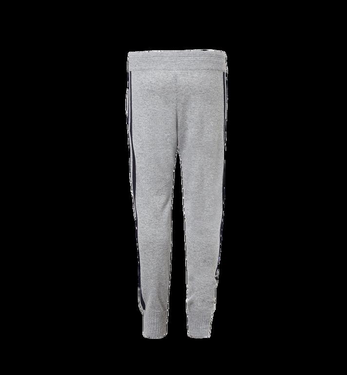 MCM Women's Cashmere Track Pants Grey MFP7AMM24EG00S Alternate View 3