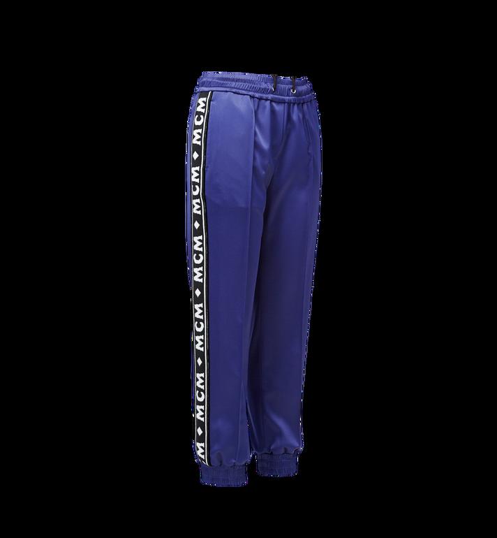 MCM กางเกงจอกเกอร์สำหรับผู้หญิงทำจากผ้าซาตินลายโลโก้  MFP8AMM49VA00M Alternate View 2