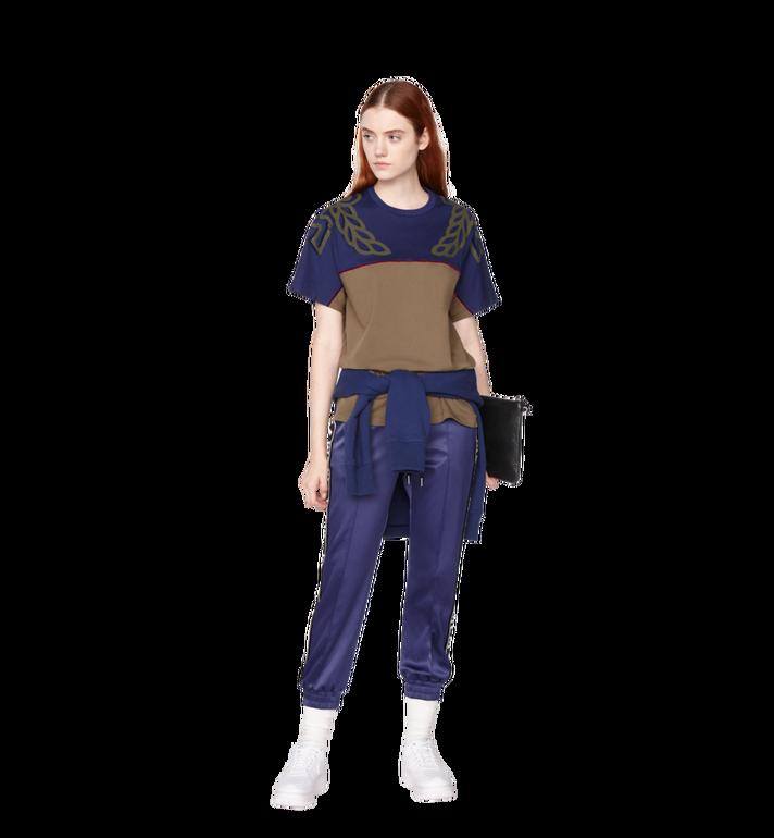 MCM กางเกงจอกเกอร์สำหรับผู้หญิงทำจากผ้าซาตินลายโลโก้  MFP8AMM49VA00M Alternate View 4