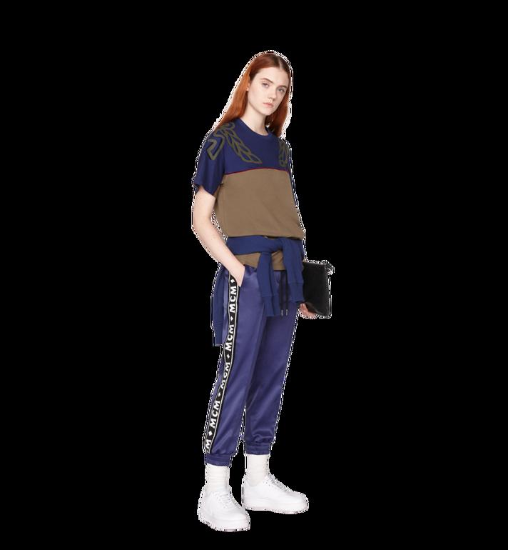 MCM กางเกงจอกเกอร์สำหรับผู้หญิงทำจากผ้าซาตินลายโลโก้  MFP8AMM49VA00M Alternate View 5