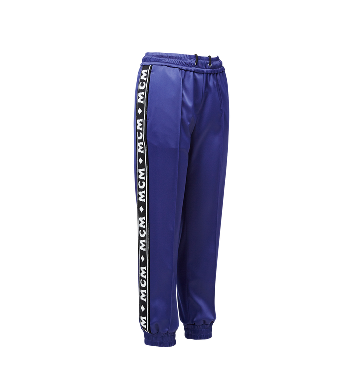 MCM Women's Logo Tape Satin Joggers Alternate View 2