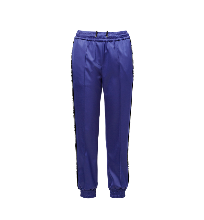 MCM Women's Logo Tape Satin Joggers Alternate View