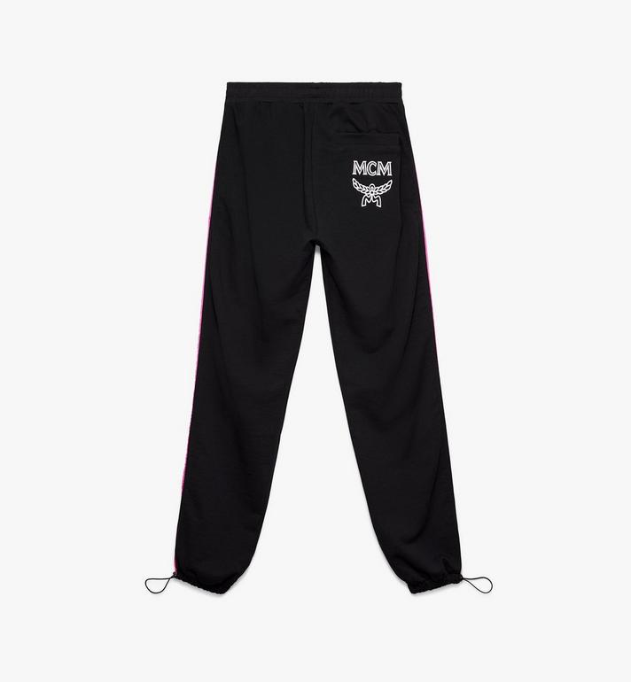 MCM Women's Flo Sweatpants Black MFP9ALC10BK00L Alternate View 2