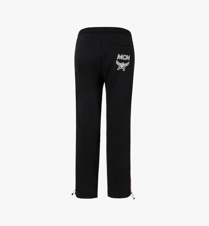 MCM Women's Flo Sweatpants Black MFP9ALC10BK00L Alternate View 3