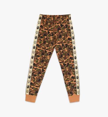 กางเกงแทร็กขายาวผู้หญิง MCM x BAPE