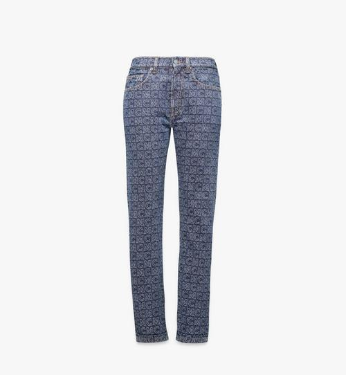 Women's Monogram Straight Leg Jeans