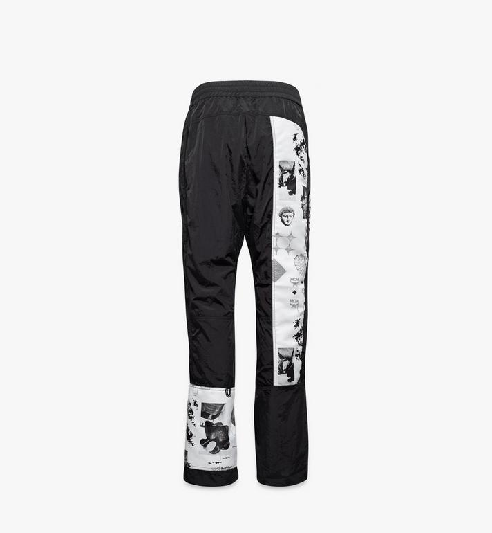 MCM Women's Wunderkammer Track Pants Black MFPAAMM02BK00M Alternate View 2