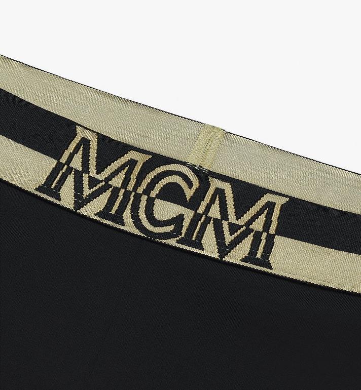 MCM Women's 1976 Leggings Black MFPASBM01BK00L Alternate View 3