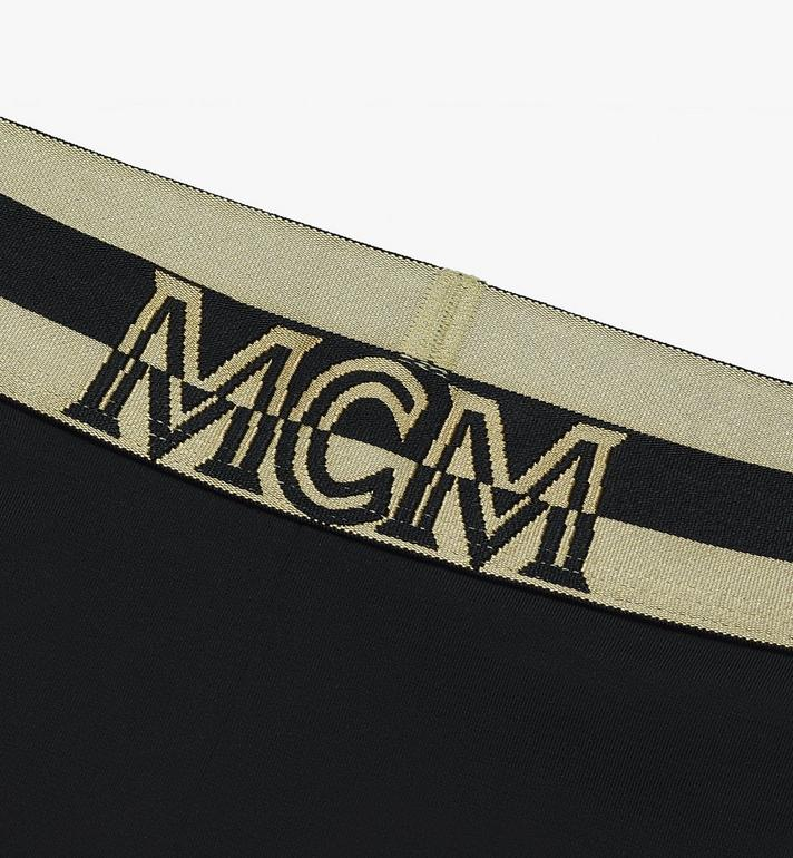 MCM Women's 1976 Cycling Shorts Black MFPASBM02BK00M Alternate View 3