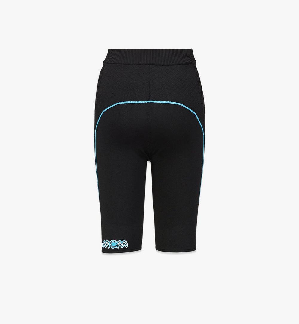 女士品牌標誌單車短褲 1