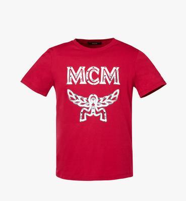 여성용 로고 스터드 티셔츠