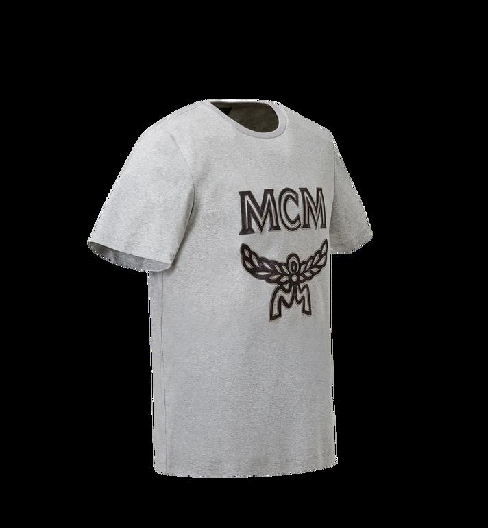 MCM Women's Logo T-Shirt Grey MFT8SMM11EG00M Alternate View 2