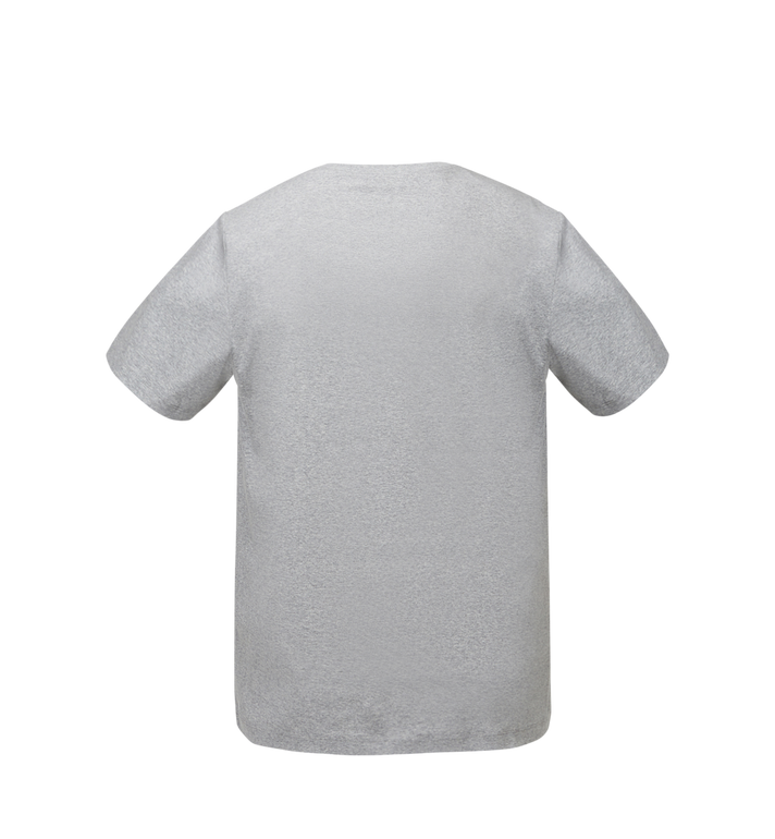 MCM T-shirt à logo pour femme Grey MFT8SMM11EG00M Alternate View 3
