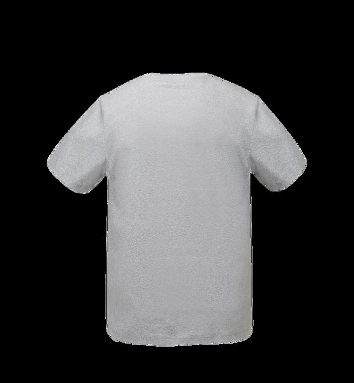 MCM Women's Logo T-Shirt Grey MFT8SMM11EG00M Alternate View 3