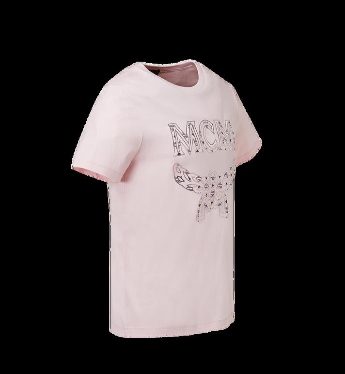 MCM 女士经典徽标 T 恤 Pink MFT8SMM11PV00S Alternate View 2