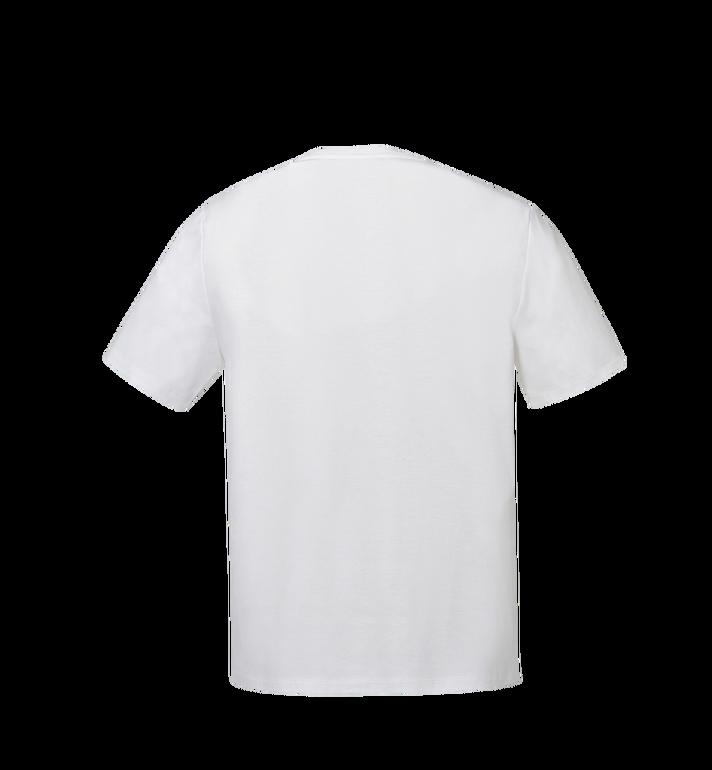 MCM Women's Logo T-Shirt White MFT8SMM11WI00L Alternate View 3