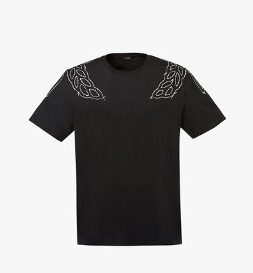여성용 로럴 스티치 티셔츠