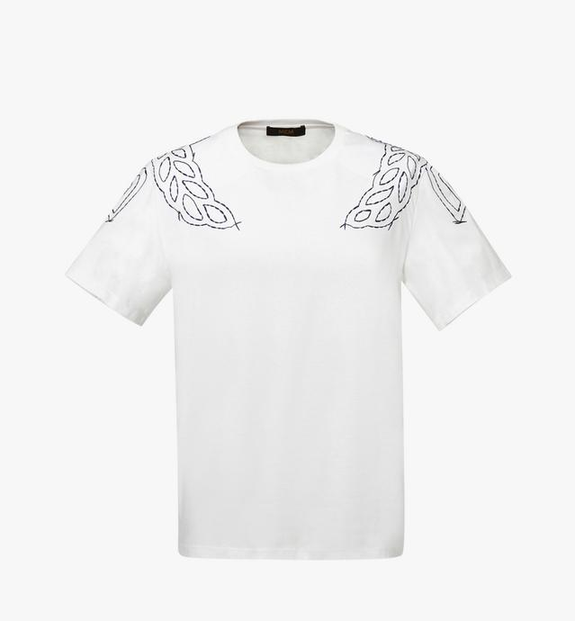 T-shirt laurier cousu pour femme