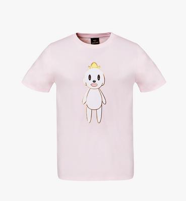 여성용 MCM X 에디 강 러브리스 티셔츠