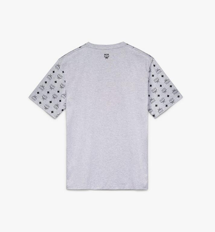 MCM Women's Flo T-Shirt Grey MFT9ALC06EG00S Alternate View 2