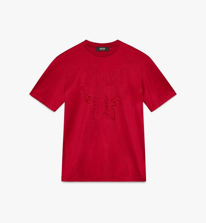 MCM 女士 Logo T 恤 Red MFT9AMM81RU00S Alternate View 1