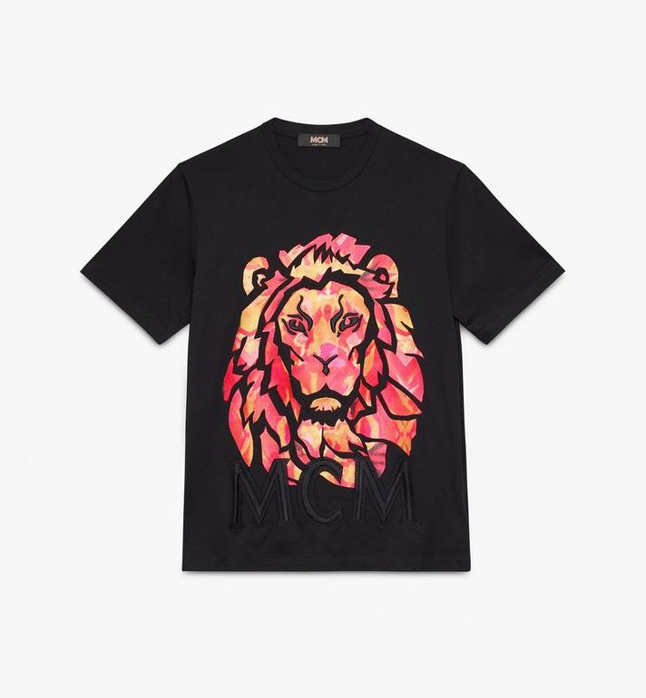 MCM เสื้อยืดโลโก้ Munich Lion สำหรับผู้หญิง Alternate View