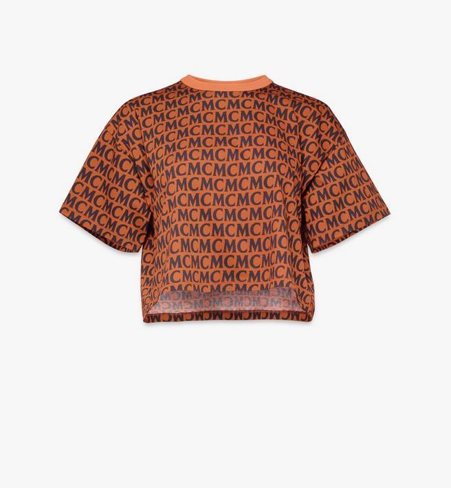 MCM T-shirt monogrammé pour femme Alternate View