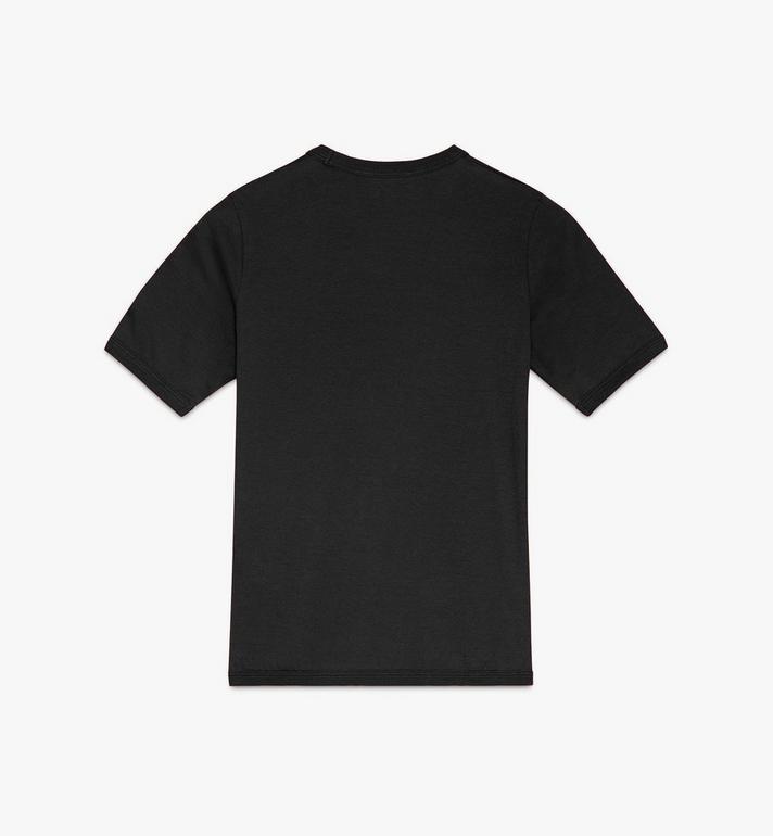 MCM Logo T-Shirt für Damen Black MFTASMM03BT00S Alternate View 2