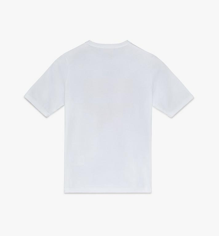 MCM 女士 Logo T 恤 White MFTASMM03WT00S Alternate View 2