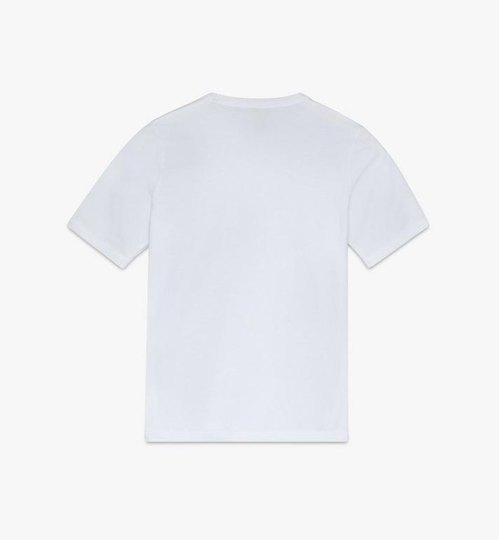 MCM 女士鼠年 T 恤 White MFTASSE02WT0XS Alternate View 2