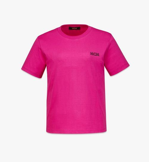 Logo-T-Shirt MCM Essentials aus Bio-Baumwolle für Damen
