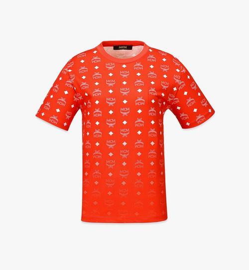 เสื้อยืดพิมพ์ลาย Visetos ไล่ระดับสีสำหรับผู้หญิง